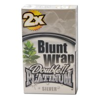Blunt Wrap - Platinum double SILVER (Berries) 2 Stück