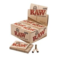 RAW - Authentic Pre-Rolled Tips