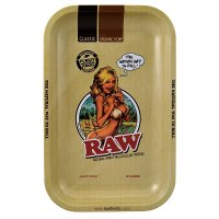 RAW - Rolling Tray - RAW Girl - Small