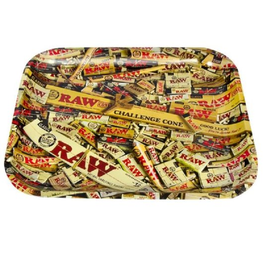 RAW - Rolling Tray - Large - Mixed Products