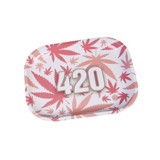 V-Syndicate - Rolling Tray - Mini - 420 Pink
