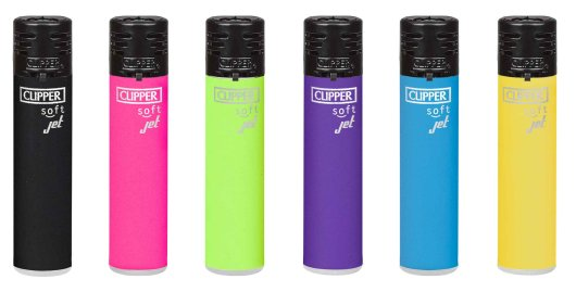 CLIPPER - Jetflame - Soft Touch Colours Black Cap