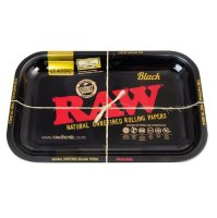 RAW - BLACK - Rolling Tray - Classic - Small